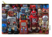 Fun Toy Robots Carry-all Pouch by Garry Gay