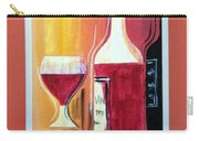 Fun Wine Time Carry-all Pouch