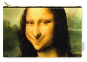 Fun With Mona Lisa Carry-all Pouch