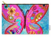 Funky Butterfly Carry-all Pouch