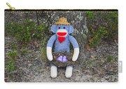 Funky Monkey - Purple Peeps Carry-all Pouch