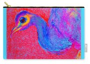 Funky Peacock Bird Art Prints Carry-all Pouch