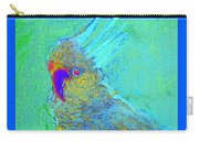 Funky Sulphur Crested Cockatoo Bird Art Prints Carry-all Pouch