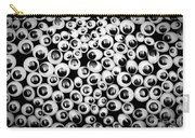 Funny Eyes Background Carry-all Pouch