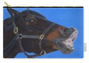 Funny Face - Horse And Child Carry-all Pouch