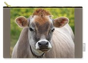 Funny Jersey Cow -square Carry-all Pouch