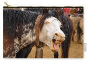 Funny Looking Horse Carry-all Pouch