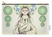 Fureai Quan Yin In Kyoto Carry-all Pouch