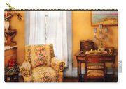Furniture - Chair - Livingrom Retirement Carry-all Pouch by Mike Savad