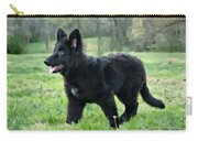 Furry Puppy Carry-all Pouch by Sandy Keeton
