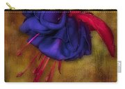 Fuschia Flower Carry-all Pouch by Susan Candelario