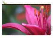 Fuschia Lily Carry-all Pouch