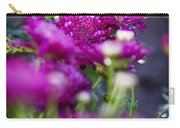 Fuschia Mums 1 Carry-all Pouch