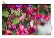 Fuchsia Spilling Over  Carry-all Pouch