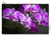 Fushia Orchid Carry-all Pouch