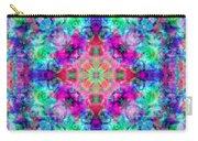 Fushia Rainbow Mandala Carry-all Pouch