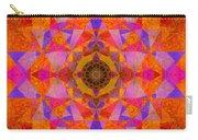 Fushia Yantra Diamond Mandala Carry-all Pouch