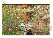 Fuzzy And The Reflected Tree Carry-all Pouch