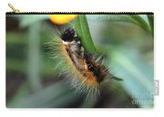Fuzzy Caterpillar Carry-all Pouch
