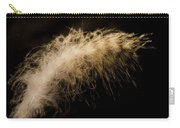 Fuzzy Feather Carry-all Pouch