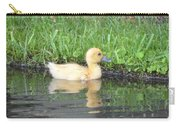 Fuzzy Little Yellow Duck Carry-all Pouch