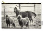 Fuzzy Ponies Carry-all Pouch