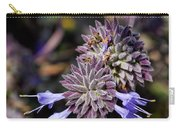 Fuzzy Purple 1 Carry-all Pouch