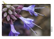 Fuzzy Purple Detail 2 Carry-all Pouch