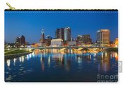 Fx2l472 Columbus Ohio Night Skyline Photo Carry-all Pouch