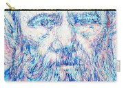 Fyodor Dostoyevsky / Colored Pens Portrait Carry-all Pouch