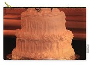 G And V Wedding Cake Carry-all Pouch