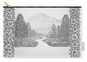 Mountain Walk Border Carry-all Pouch