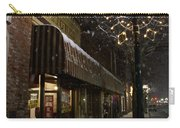 G Street Antique Store In The Snow Carry-all Pouch