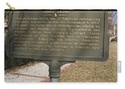 Ga-005-10 Birthplace Of Charles Holmes Herty 1867-1938 Carry-all Pouch
