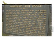 Ga-005-25 Tomlinson Fort House Carry-all Pouch