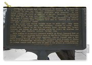 Ga-029-6 The Stoneman Raid Carry-all Pouch