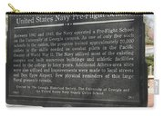 Ga-29-1 United States Navy Pre-flight School Carry-all Pouch