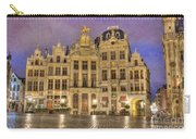 Gabled Buildings In Grand Place Carry-all Pouch