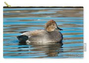 Gadwall Duck Drake Swimming Carry-all Pouch