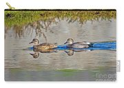 Gadwall Pair Swimming Together Carry-all Pouch
