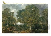 Gainsboroughs Forest Cornard Wood, C.1748 Oil On Canvas Carry-all Pouch