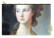 Gainsborough's The Hon. Mrs. Thomas Graham Up Close Carry-all Pouch