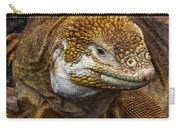 Galapagos Land Iguana  Carry-all Pouch by Allen Sheffield
