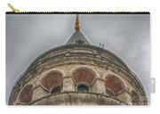 Galata Tower Istanbul Carry-all Pouch by Antony McAulay