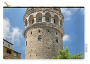 Galata Tower Landmark In Istanbul Turkey Carry-all Pouch