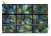 Galaxies II Carry-all Pouch by Betsy Knapp