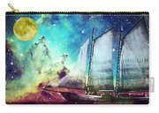 Galileo's Dream - Schooner Art By Sharon Cummings Carry-all Pouch