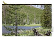 Gallatin River Yellowstone  Carry-all Pouch