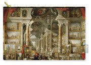 Gallery With Views Of Modern Rome Carry-all Pouch
