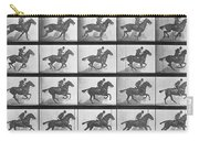 Galloping Horse Carry-all Pouch by Eadweard Muybridge